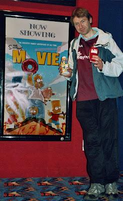 Homer eyeing my 3-year-old banoffee-pie flavoured Frijj drink