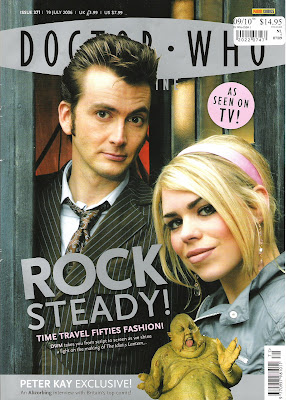 Doctor Who Magazine - still going strong!