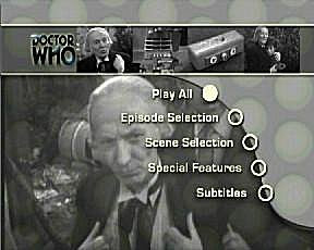 The first Doctor tries to figure-out DVD technology