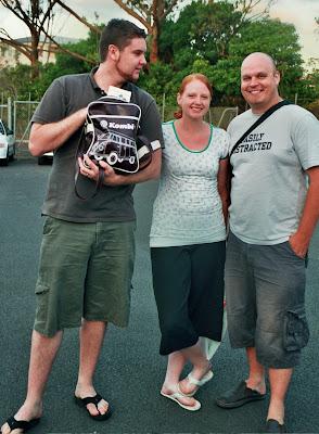 Scott, Liz and Jonathan