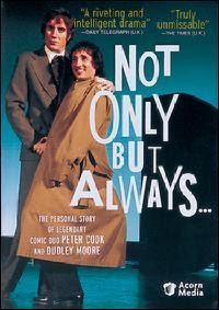 Not Only But Always starring Rhys Ifans as Peter Cook and Aidan McArdle as Dudley Moore