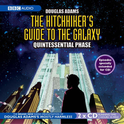 The HitchHiker's Guide To The Galaxy – Quintessential Phase CD cover