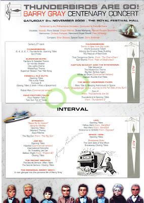 Programme centre pages