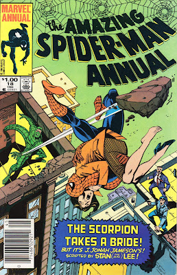The spectacular Amazing Spider-Man Annual #18