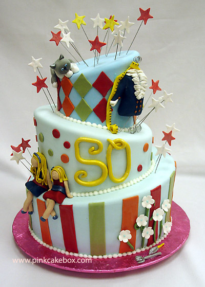 50th+birthday+cakes+ideas+for+women