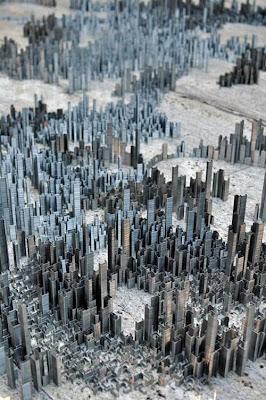 Центральная часть мегаполиса. Очень напоминает центральные районы Нью-Йорка. Фото креатив.