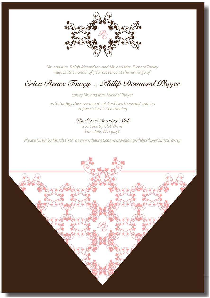 reception invite template