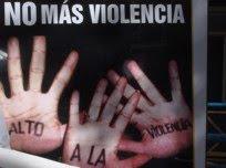 Vamos a parar la violencia