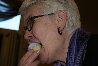 Nana and Her Purple Cupcake
