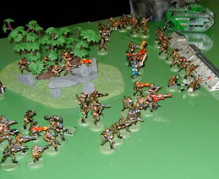 The Imperial Guard Battle Line