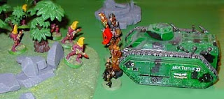 The Imperial Guard HQ attacks the Fire Dragons
