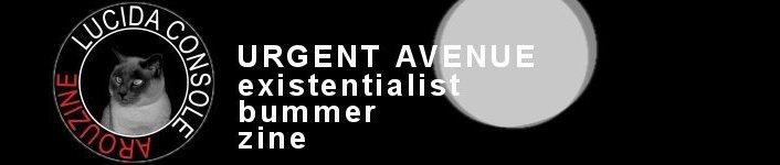 Urgent Avenue/Lucida Console Fanzine