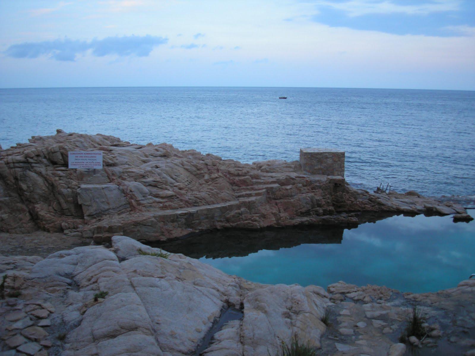 La piscina de la vergonya laura guerrero folch for Piscina natural begur