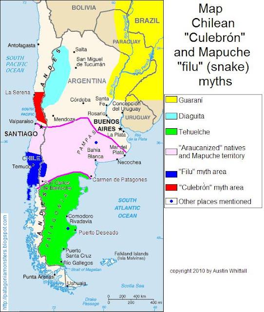 Culebron myth map