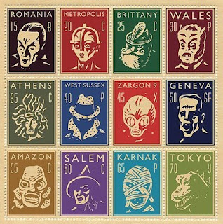 monster stamps