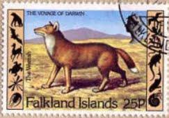 stamp warrah Malvinas Falklands