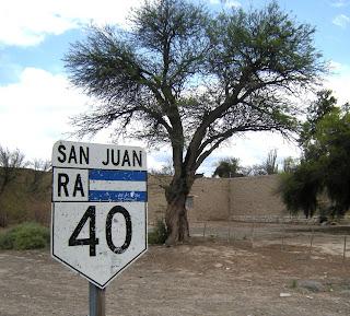 Route 40 - San Juan