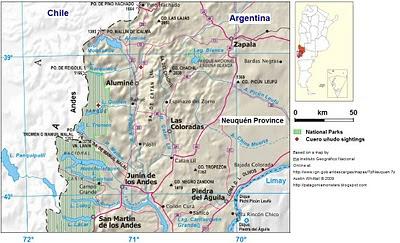 map Alumine