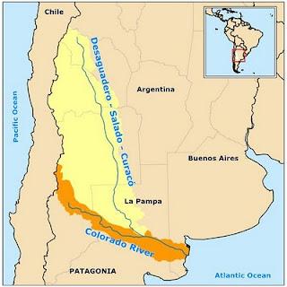 Colorado Salado river map
