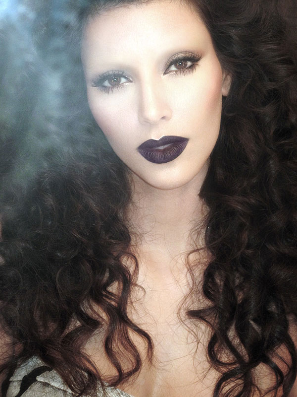 vampire eye makeup. vampire eye makeup.