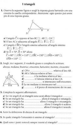Matematicamedie Schede Verifica Triangoli