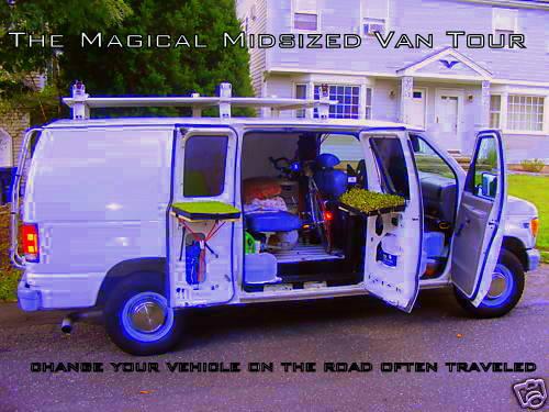 The Magical Midsized Van Tour
