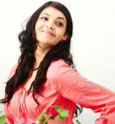 Kajal Agarwal Cute Rose Photos