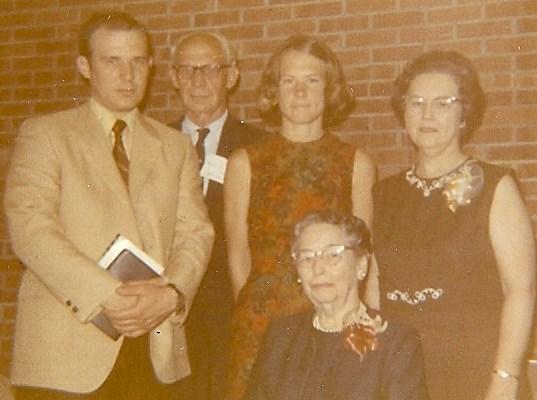 Woodlawn Baptist Church, 1970