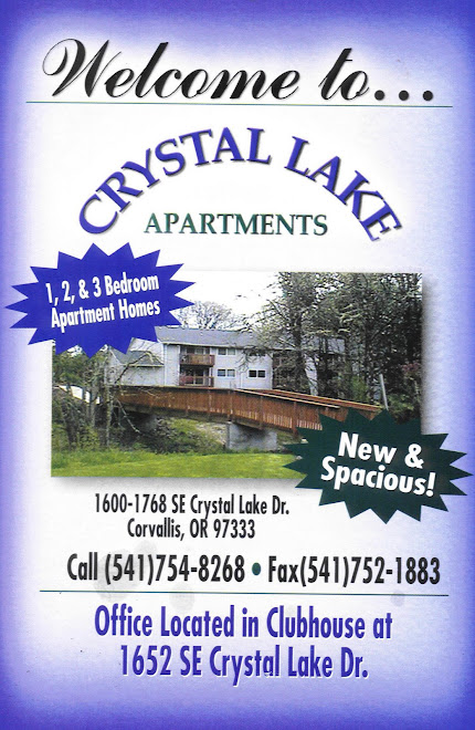 Crystal Lake Apartments in Corvallis, OR
