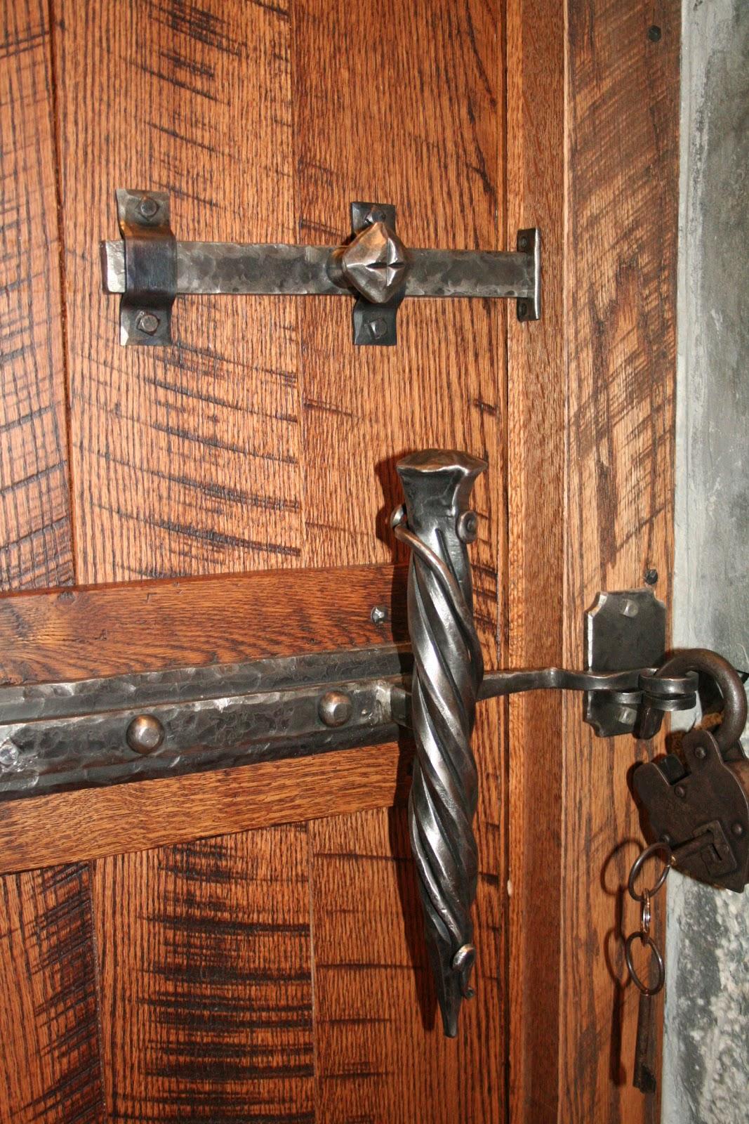 Wine Cellar Door Hardware