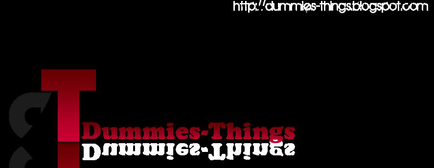 duMMies Things