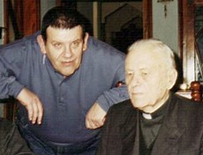 Mons. Italo Distéfano en mi casa