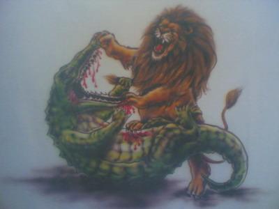 singa vs buaya