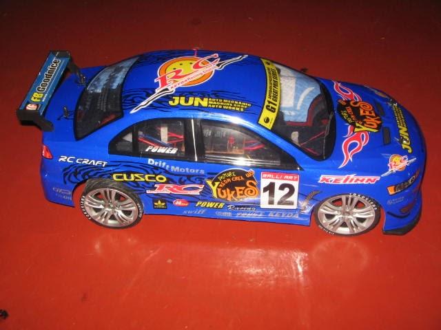 Car Collection  1  10 Ko Evo X Rc