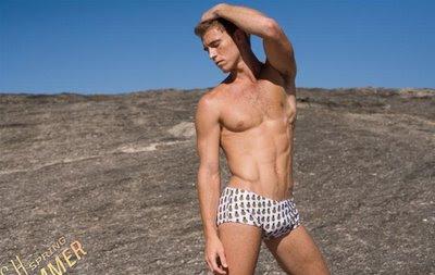 swimwear male model