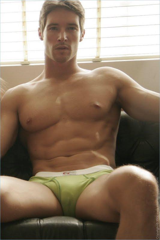 Brent Van Zant Muscle Fitness Male Model