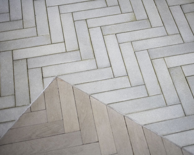 Floor Bathroom Floors Herringbone Chevron Pattern Faux Wood Tile