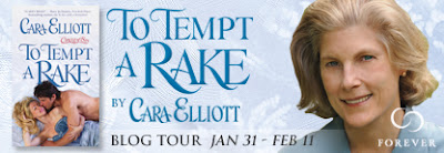 Author Spotlight + Giveaway – To Tempt a Rake by Cara Elliott