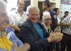 Chegada de Buzz Aldrin à Campos