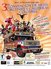 3 convencion de artes circenses y callejeras colombia 2010