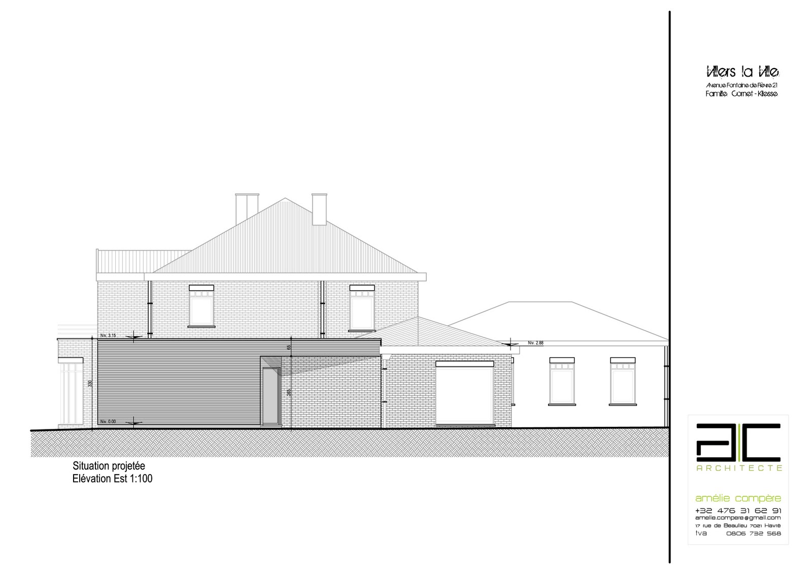 B o o k architecture projet d 39 extension situation for Architecture projet