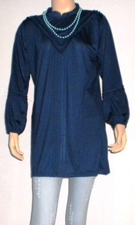 muslim 5 yang memakai bahan kaos dengan model dan desig
