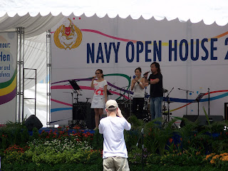 Fiona Xie Singing at Navy Open House 2007 - Picture 1