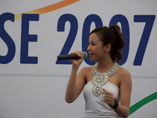 Fiona Xie Singing at Navy Open House 2007 - Picture 4