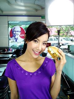 Fiona Xie KFC commercial