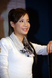 Fiona Xie at AMK Hub Opening - 01