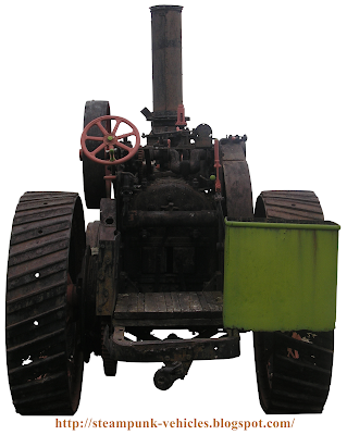 3D Modeling Reference http://steampunk-vehicles.blogspot.com/2009/06/steam-powered-tractor-garret-rear-view.html