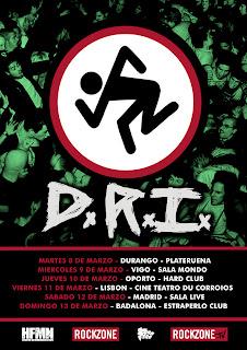 D.R.I En coincierto por españs ( Dirty Rotten Imbeciles) Cartelldri+copia