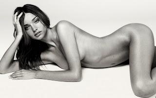Sexy Miranda Kerr Nue