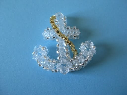 my daily bead how to make an anchor with